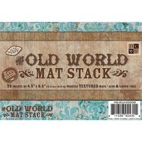 DCWV Old World Mat Stack (4.5