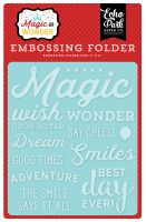 Echo Park Embossing Folder -Wish Upon a Star