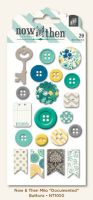 My Minds Eye Now & Then - Milo - Documented Decorative Buttons