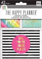 Me & My Big Ideas Create 365 The Happy Planner Mini Planner Pocket Pages