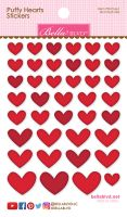 Bella Blvd Puffy Hearts Stickers - McIntosh Mix