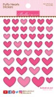 Bella Blvd Puffy Hearts Stickers - Punch Mix