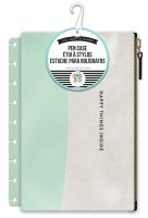 Me & My Big Ideas Create 365 The Happy Planner Happy Things Inside Mint with White Snap In Pouch