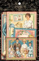 Graphic 45 Penny's Paper Doll Family Ephemera Cards