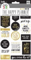 Me & My Big Ideas Create 365 The Happy Planner Stickers - Gold Seize the Day