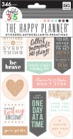 Me & My Big Ideas Create 365 The Happy Planner Stickers - Rose Good Vibes