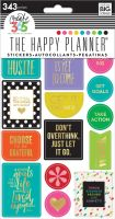 Me & My Big Ideas Create 365 The Happy Planner Stickers - Bright Hustle
