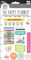Me & My Big Ideas Create 365 The Happy Planner Snap In Stickers - TGIF