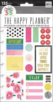Me & My Big Ideas Create 365 The Happy Planner Snap In Stickers - Make It Happen