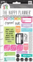 Me & My Big Ideas Create 365 The Happy Planner Snap In Stickers - Get Paid