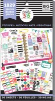 Me & My Big Ideas Create 365 The Happy Planner Sticker Value Pack - Basics