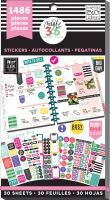 Me & My Big Ideas Create 365 The Happy Planner Sticker Value Pack - Everyday Plans