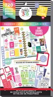 Me & My Big Ideas Create 365 The Happy Planner Sticker Value Pack - Rainbow (Big)