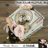 Prima Marketing Frank Garcia Theatre de la Ville Mixed Media Album Class Kit