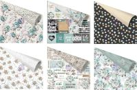 Prima Marketing Zella Teal - Paper Pack (2 sheets of all 8 designs)