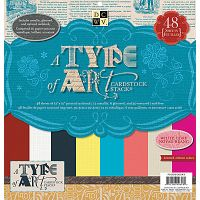 DCWV A Type of Art Cardstock Stack