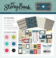 Echo Park Pinstripes Pocket Page Kit