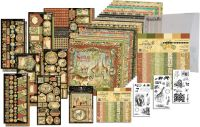 Graphic 45 Safari Adventure 12x12 I Want It All Bundle (does not include 8x8)