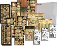 Graphic 45 Safari Adventure 8x8 I Want It All Bundle (does not include 12x12)