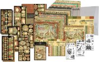 Graphic 45 Safari Adventure 12x12 & 8x8 I REALLY Want It All Bundle