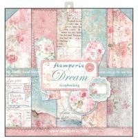 Stamperia 12x12 Paper Pad - Dream (10 Double Sided Sheets)