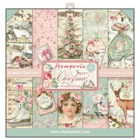 Stamperia 12x12 Paper Pad - Sweet Christmas (10 Double Sided Sheets)