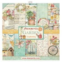 Stamperia 12x12 Paper Pad - Garden (10 Double Sided Sheets)