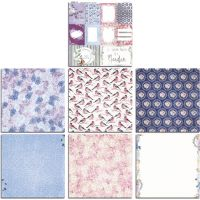 Bo Bunny Secret Garden 12x12 Bonus Paper Bundle