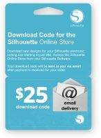 Silhouette America $25 Download Code
