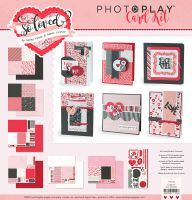 PhotoPlay So Loved Valentine Card Kit
