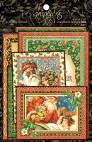 Graphic 45 St Nicholas Ephemera Cards