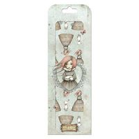 Santoro London Mirabelle 2 FSC Deco Mache - Traveler's Rest Character Repeat