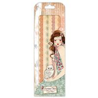 Santoro London Willow FSC Deco Mache Paper 2 - Mademoiselle Snow Lace