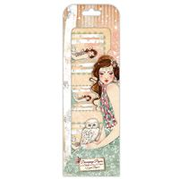 Santoro London Willow FSC Deco Mache Paper 8 - Mademoiselle Snow Character
