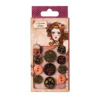 Santoro London Willow Wooden Buttons
