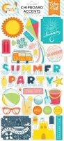 Echo Park Summer Party 6x13 Chipboard