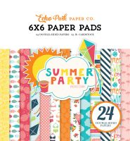 Echo Park Summer Party 6x6 Paper Pad
