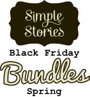 Simple Stories Black Friday Bundle - Fall - including 30+ sheets cardstock & 9+ packages coordinating embellishments