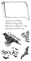 Graphic 45 Cling Stamp G45 Steampunk Spells 3 (Hampton Arts)