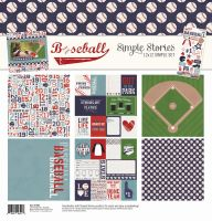 Simple Stories Baseball Simple Set 12x12 Collection Kit