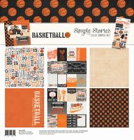 Simple Stories Basketball Simple Set 12x12 Collection Kit