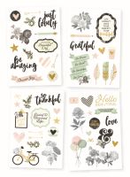 Simple Stories Beautiful 4x6 Stickers