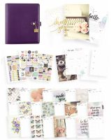 Simple Stories Carpe Diem - Bliss Grape A5 Planner Boxed Set