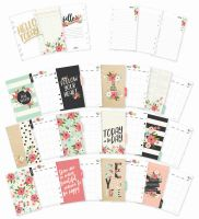 Simple Stories Carpe Diem - Bloom Personal Monthly Planner Inserts