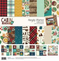 Simple Stories Cabin Fever 12x12 Collection Kit