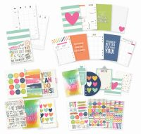 Simple Stories Carpe Diem - Fitness Fitness Planner Inserts