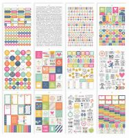 Simple Stories Carpe Diem - Fitness Fitness Sticker Tablet