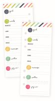 Simple Stories Carpe Diem - Fitness Daily Tracker Bookmark Tablet