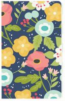 Simple Stories Carpe Diem - Faith Navy Floral Doc-It Journal