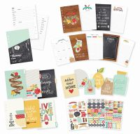 Simple Stories Carpe Diem - Recipe Recipe A5 Planner Insert Set